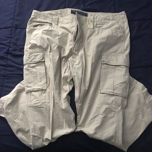 American eagle slim cargo pants